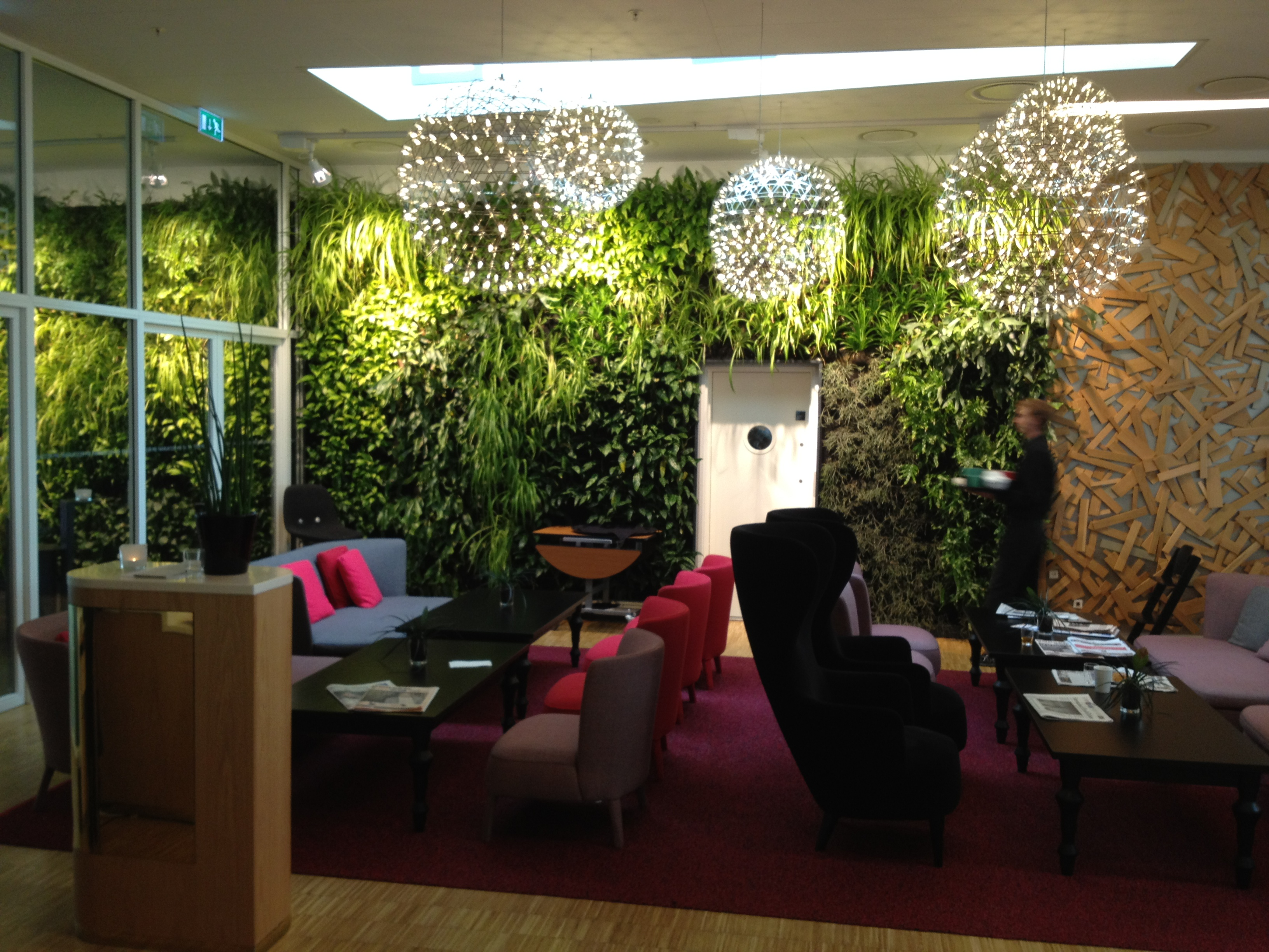 Sustainability buzzwords biophilia less conversation for Sky design hotel